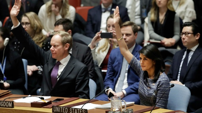 The US, which drafted the resolution, had wanted even harsher measures