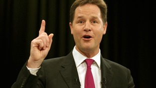 Nick Clegg pictured last year