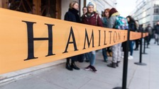Hamilton opened in London on Thursday.