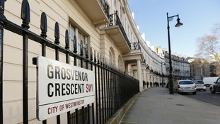 A home on Grosvenor Crescent could set you back £16,918,000