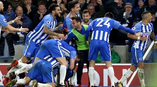 Brighton ended a seven-game winless run with a narrow victory over out-of-form Watford