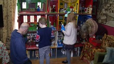 For 24 years it has been a Christmas tradition to build a giant Lego model.