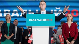 Vladimir Putin opponent Alexei Navalny nominated to run against President in election
