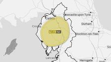 Yellow warning for rain in Cumbria
