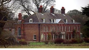 Anmer Hall on the Royal Sandringham Estate in Norfolk