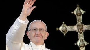 Pope uses Christmas message to call for two-state solution in Middle East