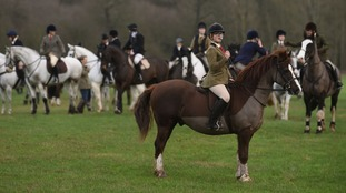 the Quorn Hunt Boxing Day meet at Prestwold Hall in Loughborough in 2015.