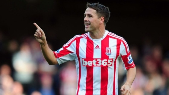 Michael Owen made his first start for Stoke against Crystal Palace in the FA Cup