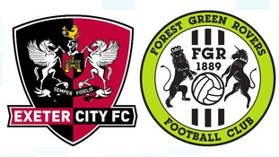 Exeter City v Forest Green Rovers abandoned because of waterlogged pitch