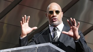 The Rock came in just under if Fast and Furious co-star