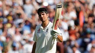 The Ashes: Cook completes century as England take fight to Australia