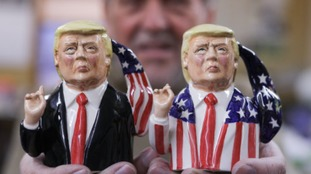 The two versions of the Donald Trump Toby Jug