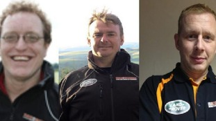 John Winskill, Lee Townsend and Justin Birchall