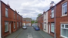 Clayton Street, Dukinfield where the arson attacks happened