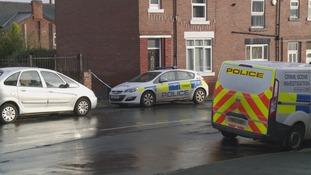 Police on the scene in Balby