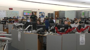 Staff at the trust took more than 4,000 calls.