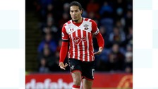 The Dutch defender Virgil van Dijk