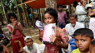 An estimated 620,000 Rohingya men, women and children have fled to neighbouring Bangladesh