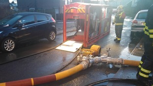 Canberra Road in Coventry remains closed with a high volume pump now in operation