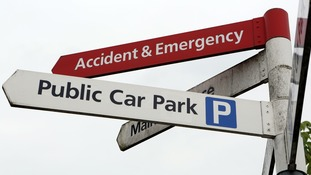 Hospitals have raised record amounts from parking charges this year