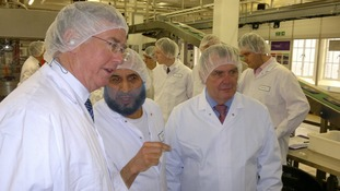Michael Fallon MP at Cadbury