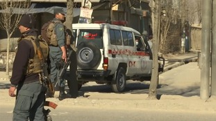 Afghanistan: At least 41 people killed in Kabul suicide attack