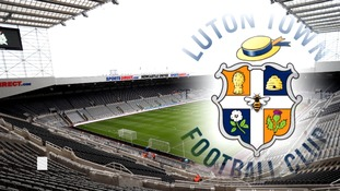 Luton Town will have plenty of support at St James' Park.