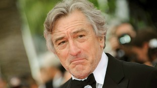 Robert De Niro arrives at the premiere of Pirates of the Caribbean 4 in 2011