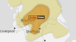Amber Weather Warning for Snow