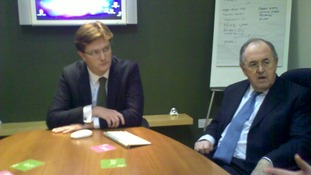 Danny Alexander and Sir Alan Beith