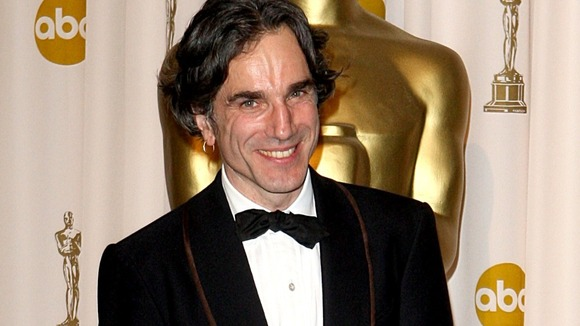Daniel Day-Lewis after his Oscar win for There Will be Blood