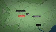 The crash happened near Bury St Edmunds on Boxing Day.