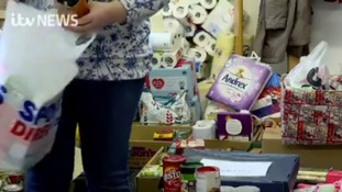 A foodbank that's vital to some residents on the IoM