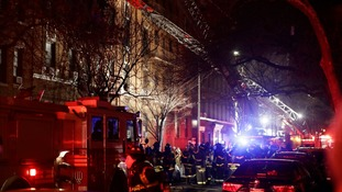 Horrific blaze that killed 12 in New York 'was started by child playing with stove'