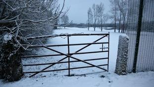 Winter wonderland in Castle Douglas