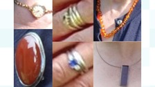 The jewellery was stolen between 9 and 12 December from a property in Alderton.