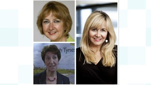 Amanda Skelton (top left), Norma Redfearn (bottom left) and Judith Doyle (right)