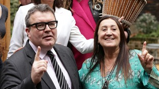 Lynne Franks and Tom Watson MP