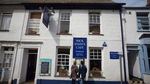 Rick Stein's cafe in Padstow