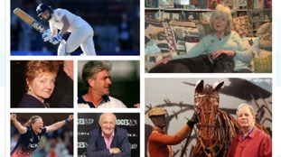 West Country celebrities awarded New Year Honours
