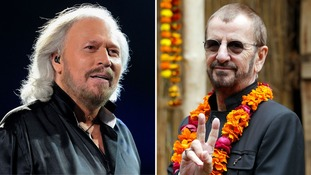 Ringo Starr and Barry Gibb knighted in New Year Honours