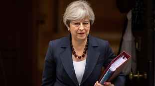 Prime Minister Theresa May said there had been challenges in 2017