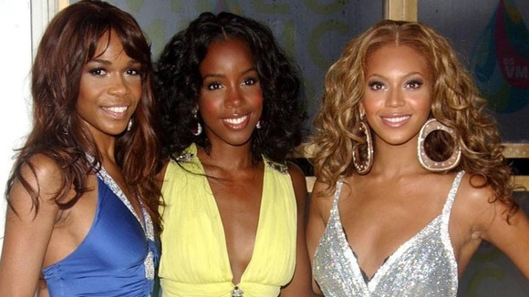 Michelle Williams, Kelly Rowland and Beyonce Knowles pictured in 2005