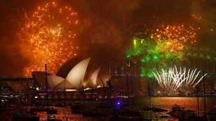 Australia and New Zealand see in 2018 with spectacular fireworks displays