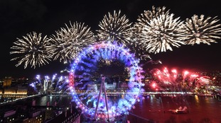 2018: UK celebrates start of new year