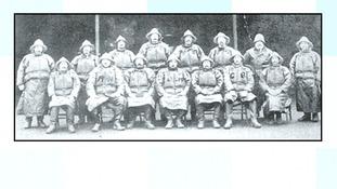 The crew 100 years ago