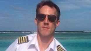 Australian Gareth Morgan was the pilot of the plane.