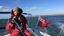 Sailor Tineke Dixon, from Exmouth in Devon, has battled serious health problems.