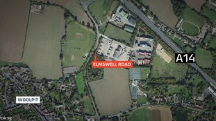 Body found at Woolpit