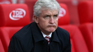 Pressure mounts on Hughes after Stoke's Newcastle defeat